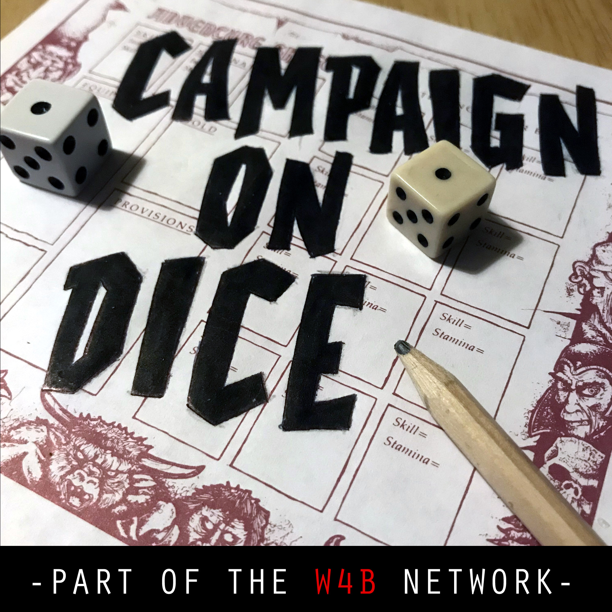 Campaign On Dice show art