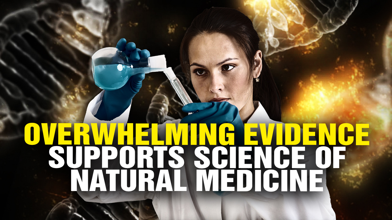 Artwork for OVERWHELMING scientific evidence supports NATURAL medicine