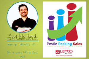 Pharmacy Podcast Episode 126 Introducing PESTLE PACKING SALES