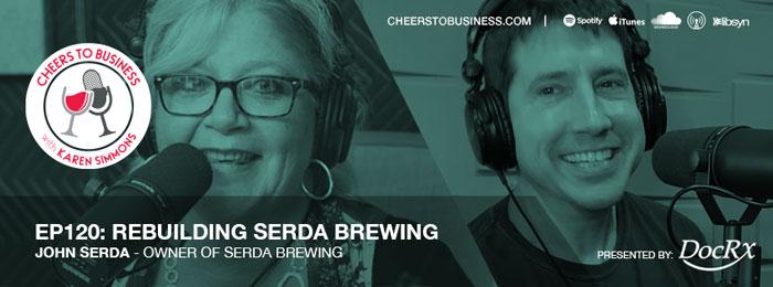 John Serda on Cheers To Business