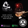 Artwork for Dave Leslie on touring with Van Halen