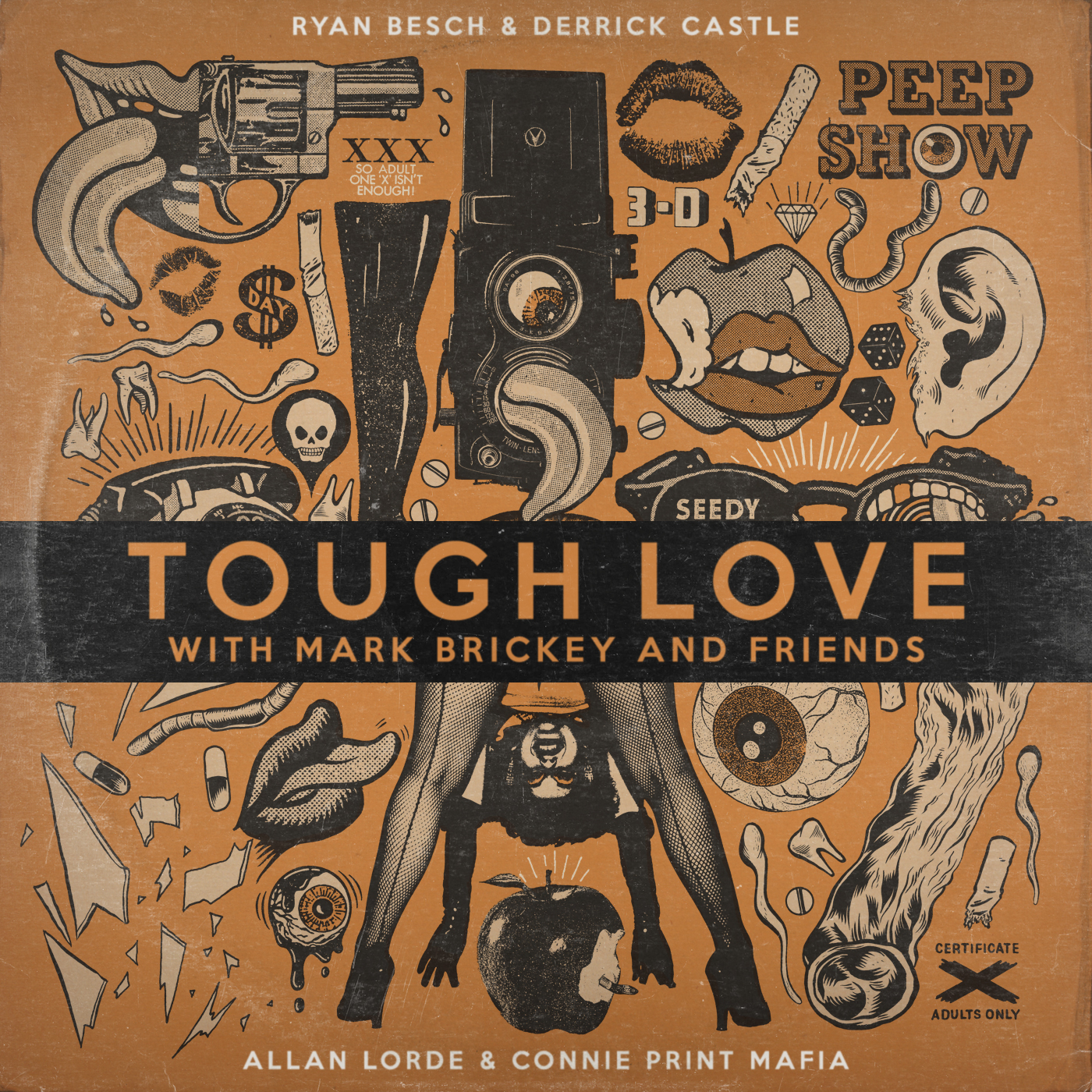 Episode 322 - Tough Love with Mark Brickey and Friends