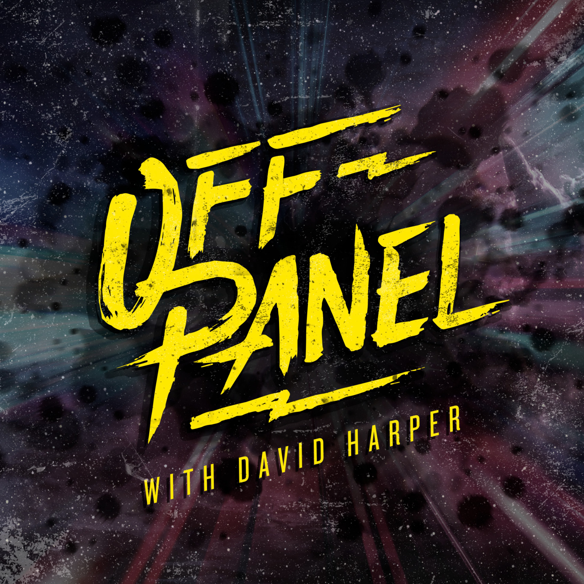 Off Panel: A Comics Interview Podcast show art
