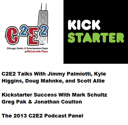 Word Balloon Podcast C2E2 Coverage and Kickstarter Success With Mark Schultz, Greg Pak & Jonathan Coulton