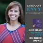 Artwork for 036: Social Impact and Podcasting with Julie Neale, Mother's Quest