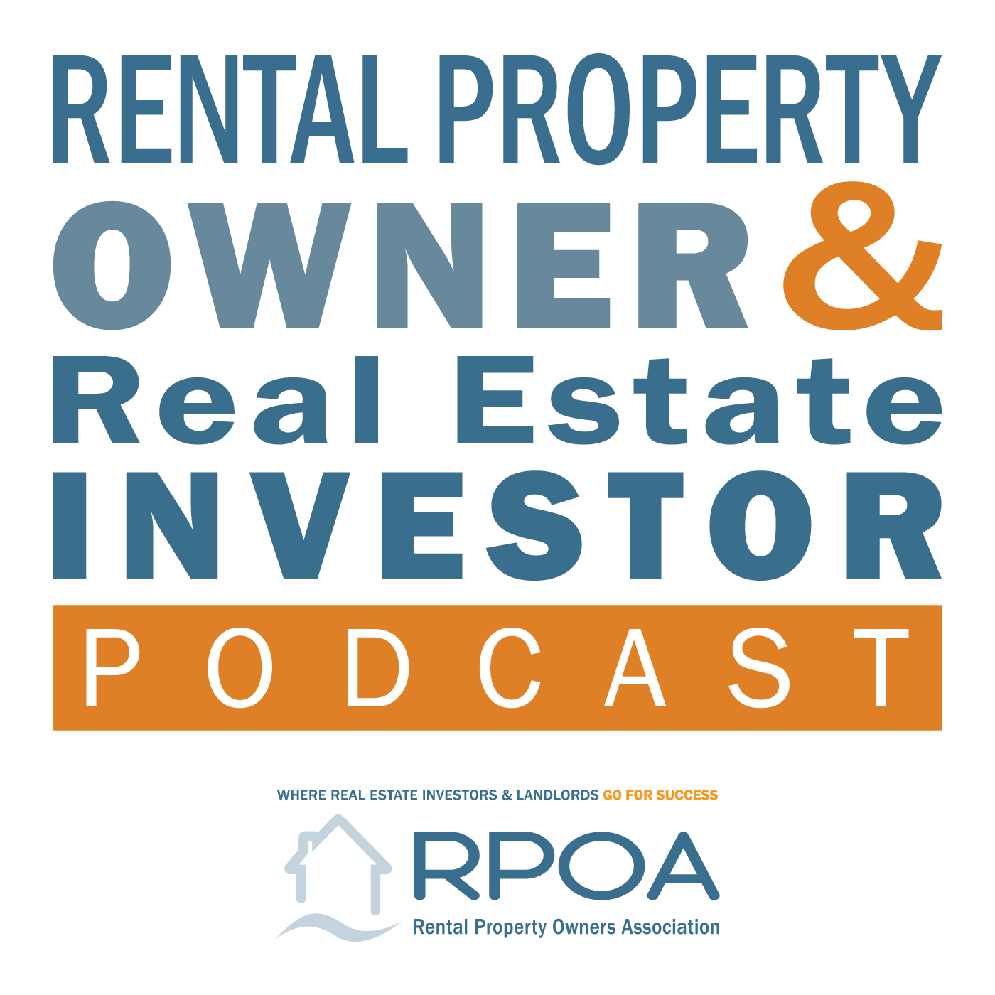 Rental Property Owner & Real Estate Investor Podcast show art