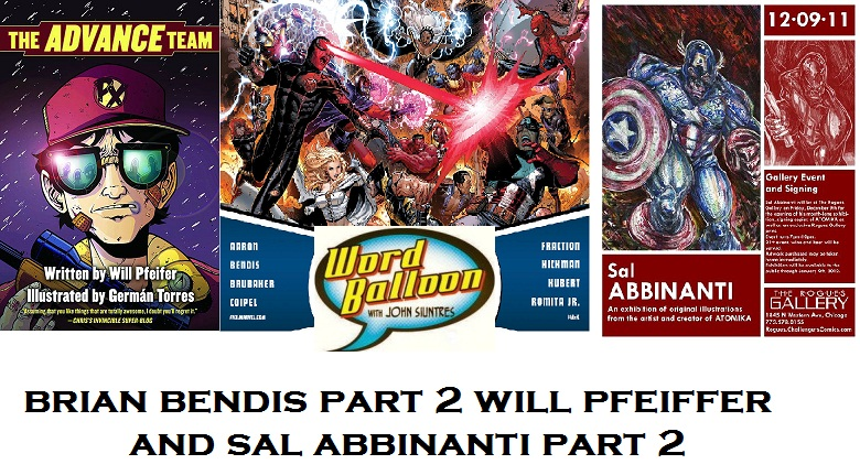 ep 380 New Years Eve Party With Bendis pt2 Will Pfeiffer and Sal Abbinanti pt2