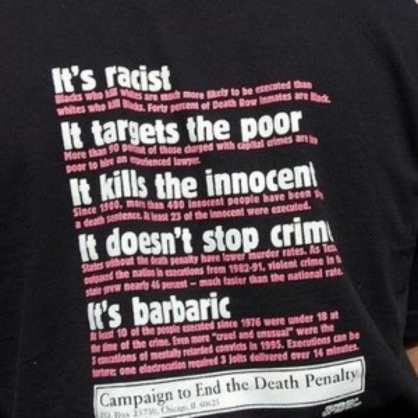 (2014/05/19) Bad in principle and in practice (Death Penalty) (Repost)