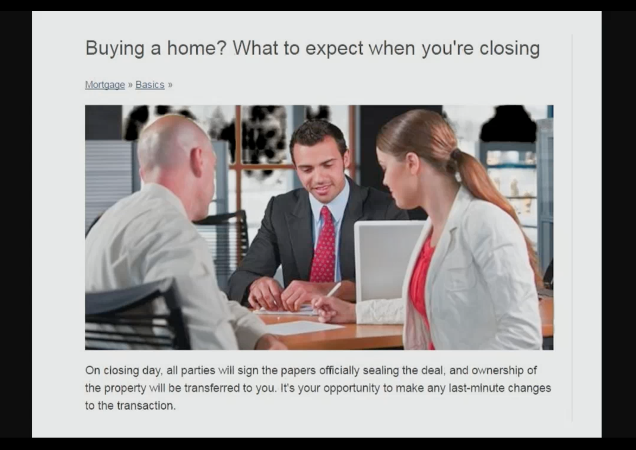 Artwork for March-15-2017-BUYING A HOME ?? - What To EXPECT when your CLOSING….
