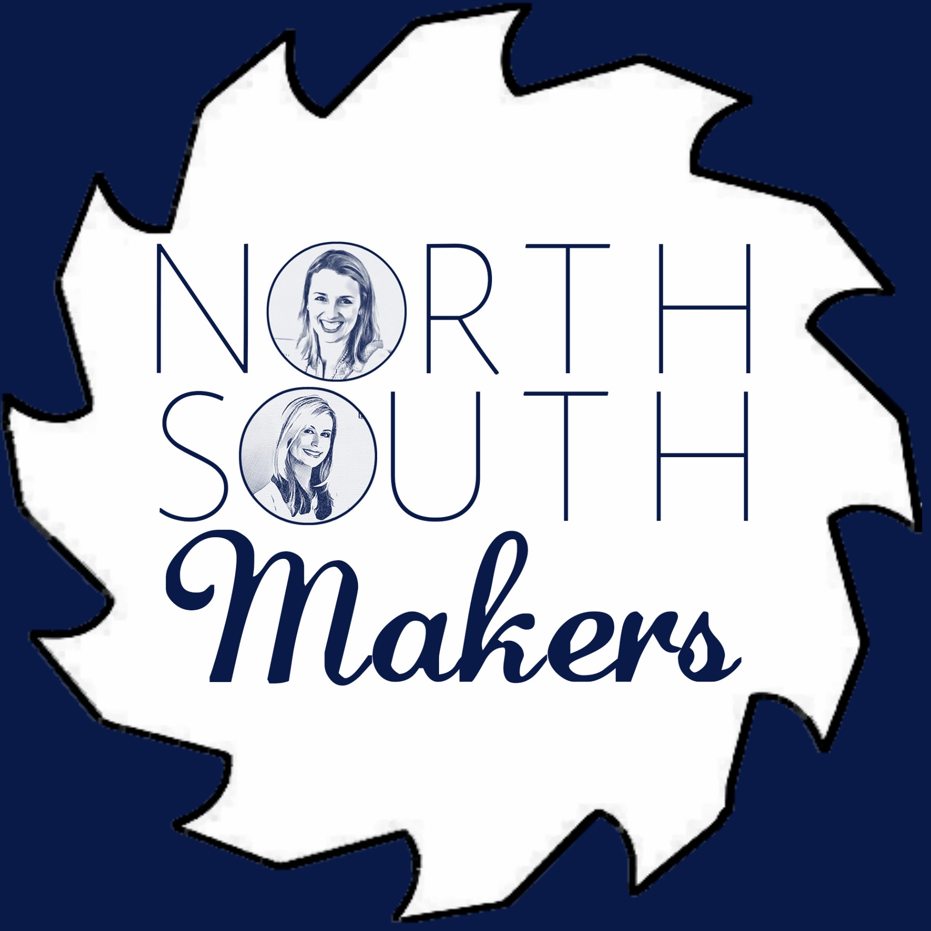 The North South Makers Podcast show art