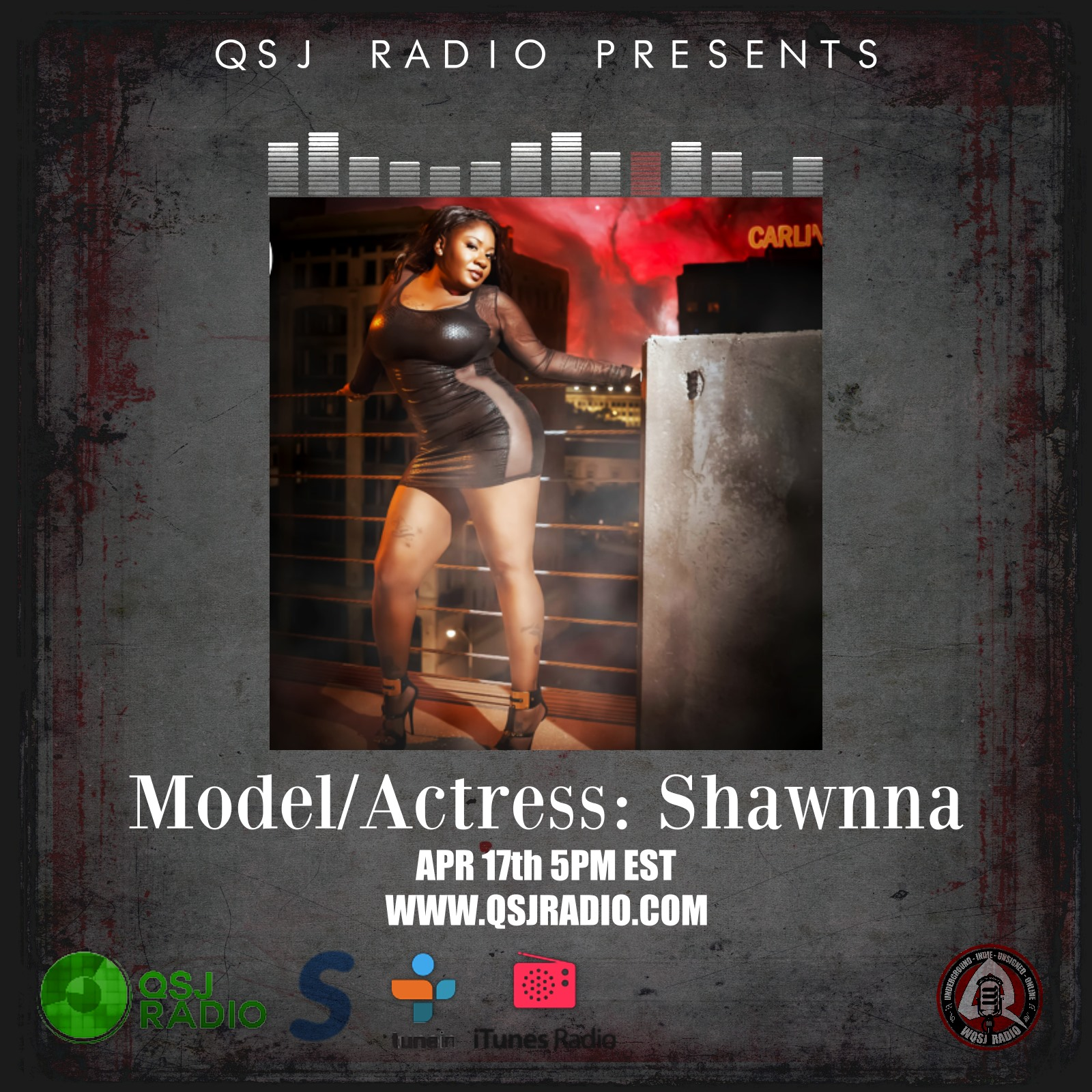Artwork for 4.17.2014 Podcast with Shawnna Lawrence @asurity25 QSJ Radio