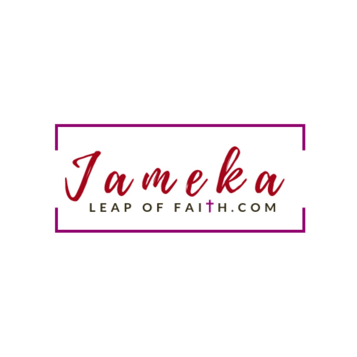 Jameka Leap of Faith show art