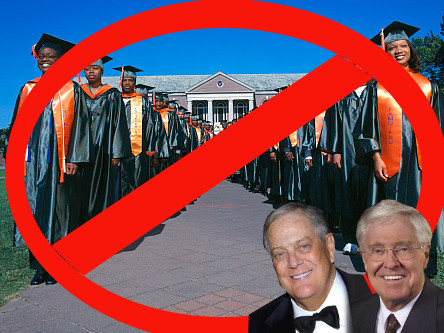 "Black Response to the Koch $25 Million ""Gift"" Should Be a Movement For Free College Tuition"