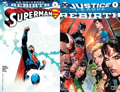 Rebirth: Superman 2 and Justice League