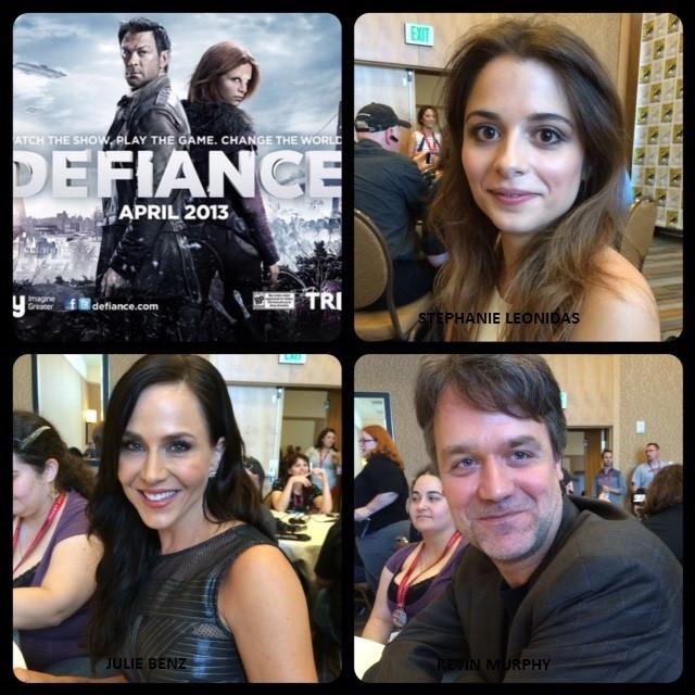 Episode 561 - SDCC: Defiance w/ Stephanie Leonidas/Julie Benz/Kevin Murphy