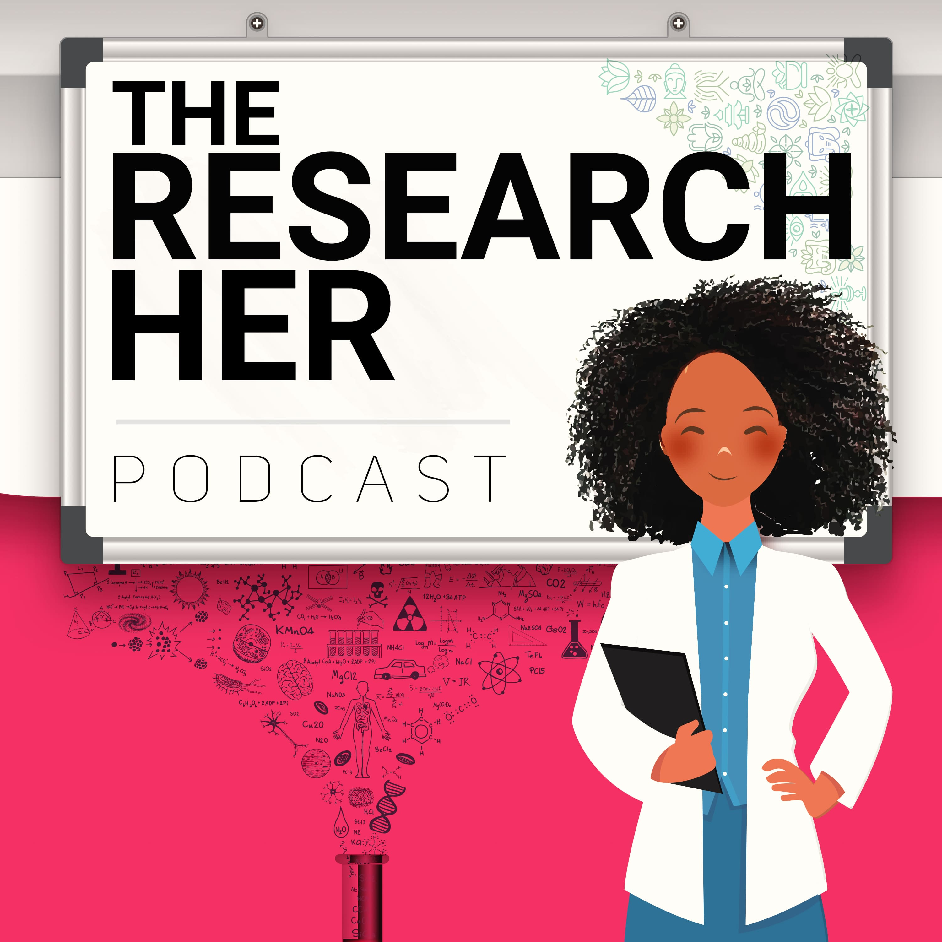 The Research Her show art