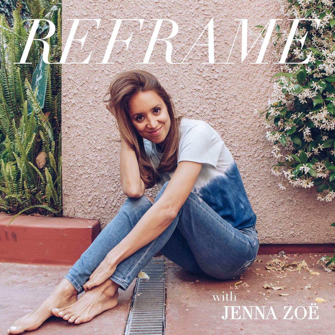 Reframe with Jenna Zoë show art