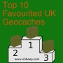 Artwork for Top 10 Favourited UK Geocaches - OBGCP18