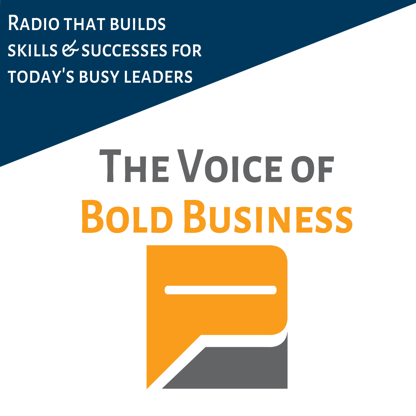 Bold Business Radio show art