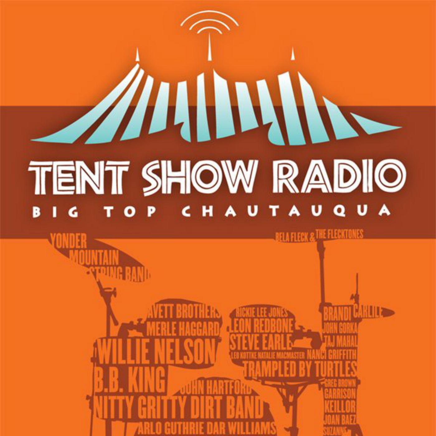 Tent Show Radio show art