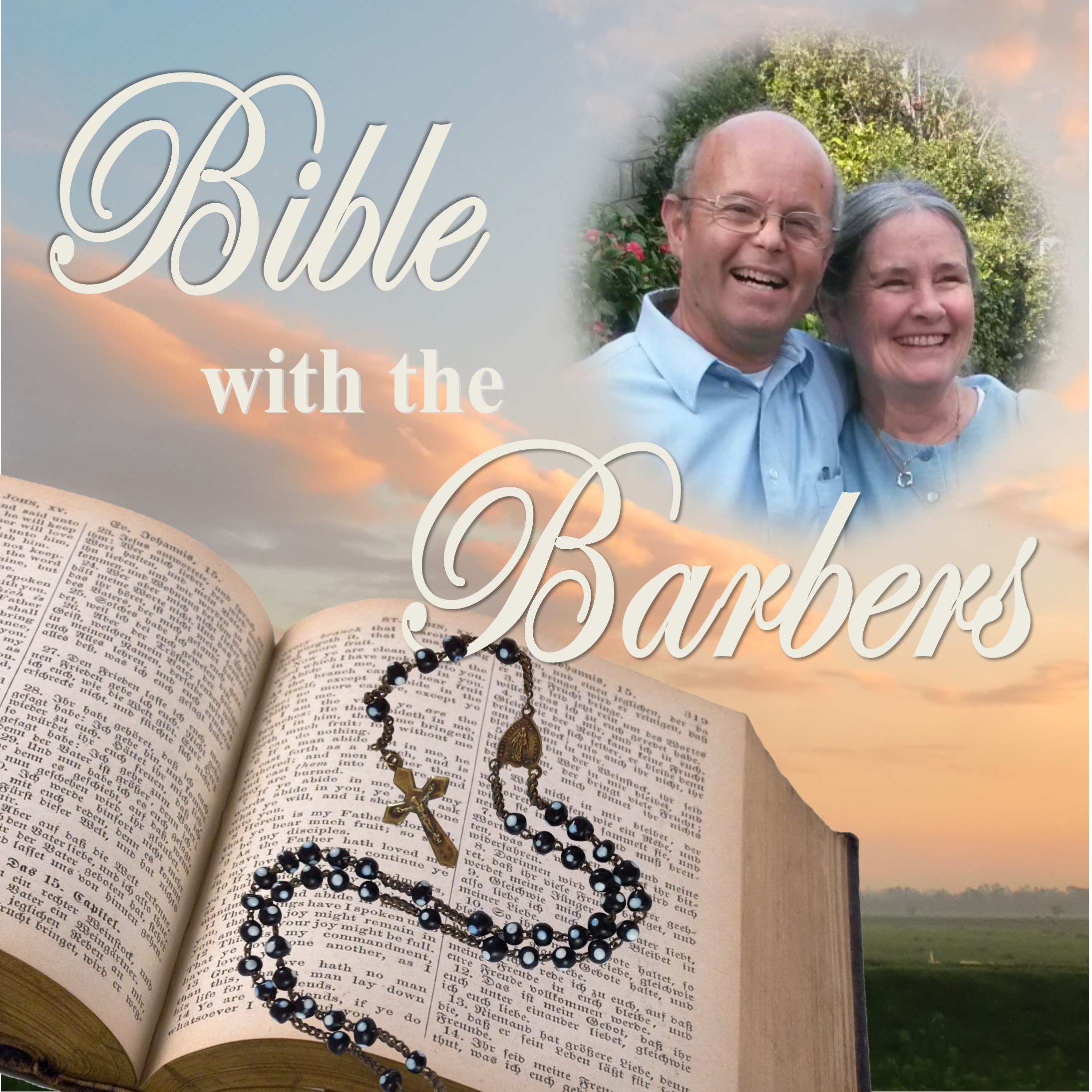 Bible with the Barbers show art