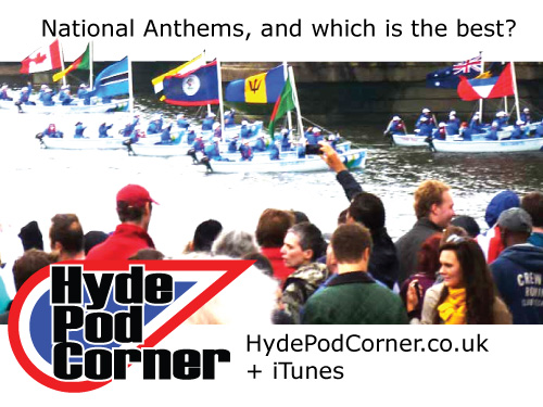 Hyde Pod Corner #56 - National Anthems, and Which is the Best?
