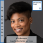 """Artwork for 07: How do you """"show up"""" for your clients? And what does a premium subscription have to do with that?  An interview with Kim Bennett from K. Bennett Law"""