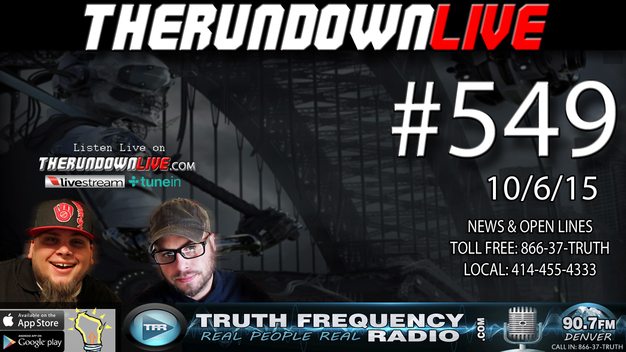 The Rundown Live #549 (William Cooper, Shootings, Hidden History)
