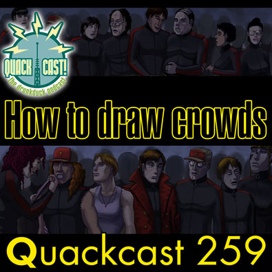 Episode 259 - How to draw crowd scenes