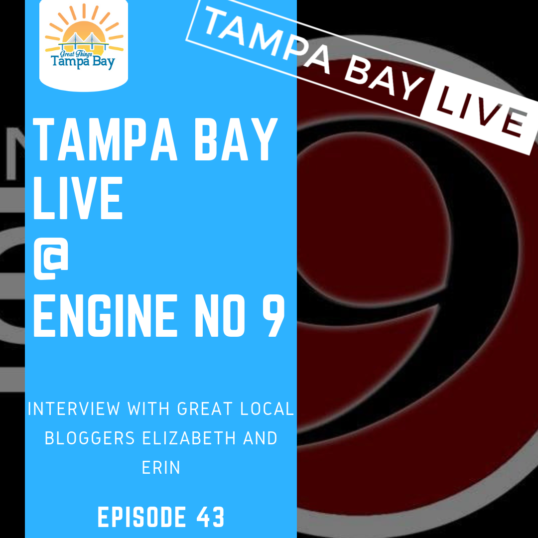 Artwork for E43 Tampa Bay Live Interview at Engine 9 in Saint Petersburg