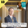 Artwork for 13: Prevent Heart Attacks with a Simple Blood Test