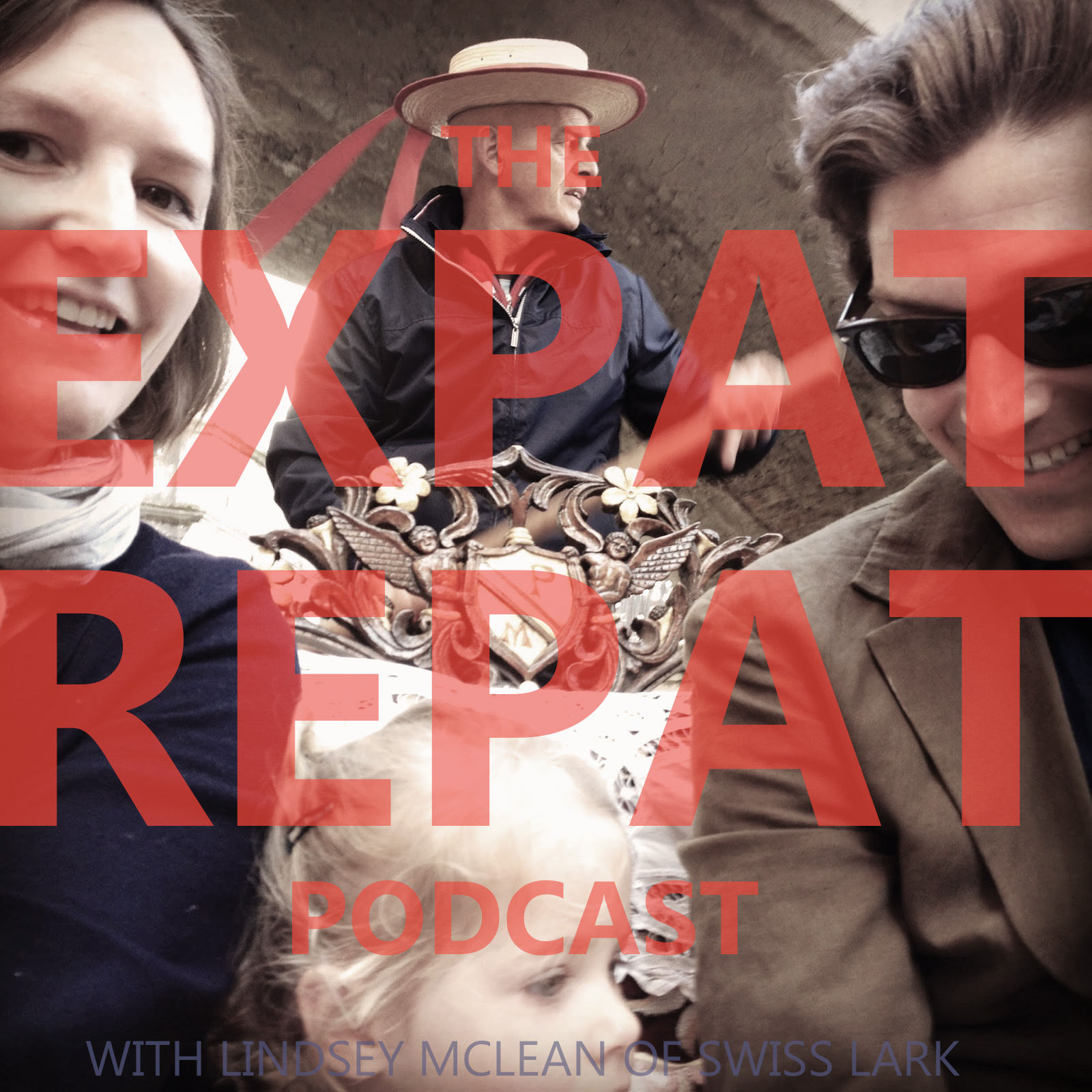 The Expat Repat Podcast show art