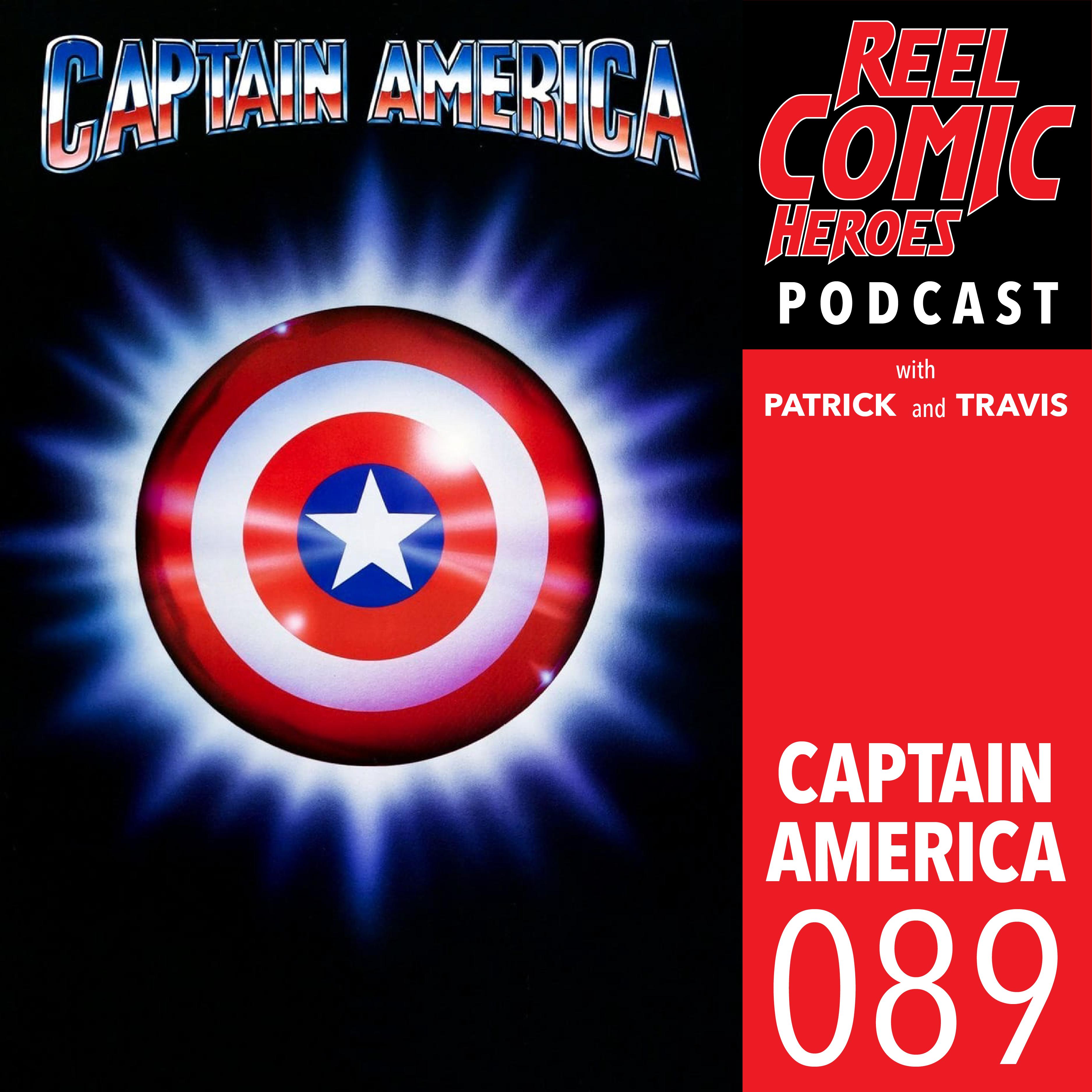 Artwork for 089 - Captain America