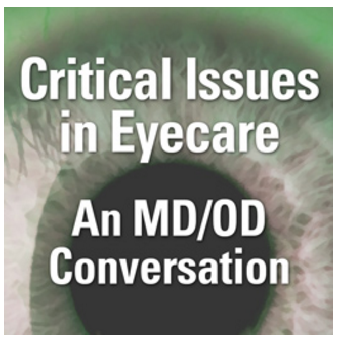 Critical Issues in Eyecare: An MD/OD Conversation logo