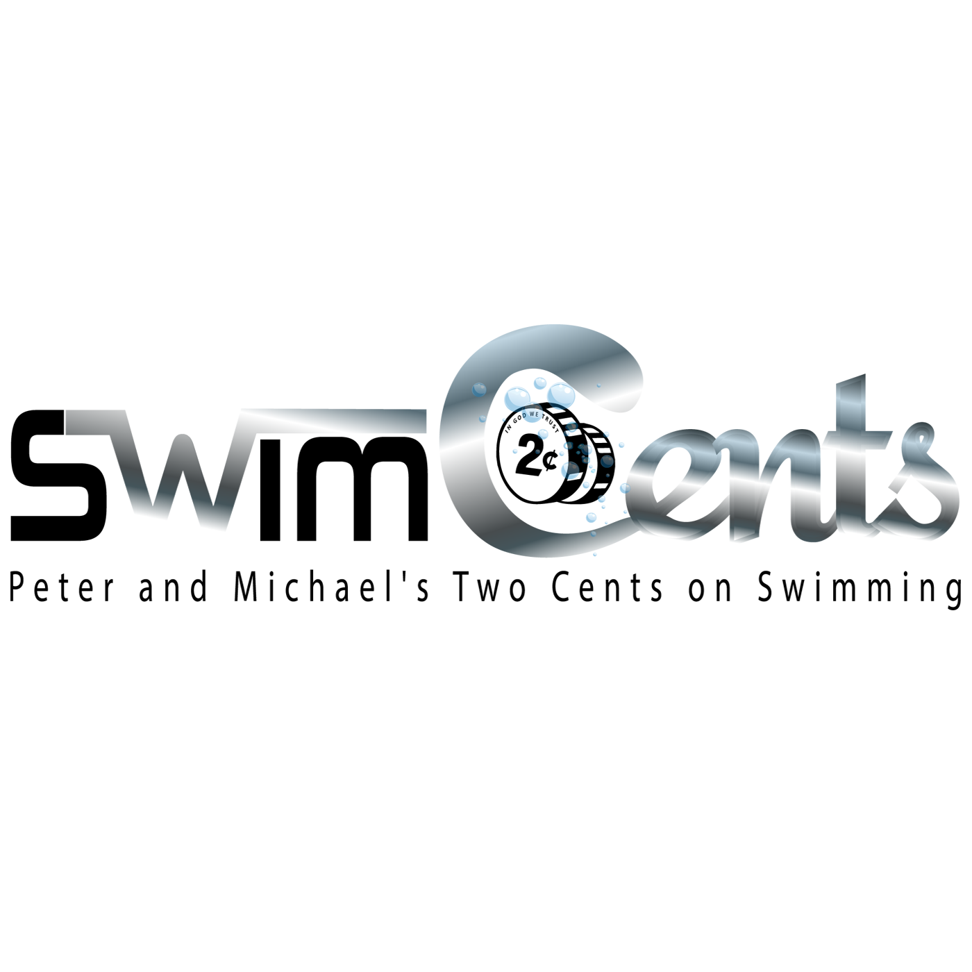 SwimCents Vodcast, Peter Andrew and Michael Andrew's Two Cents on Swimming logo