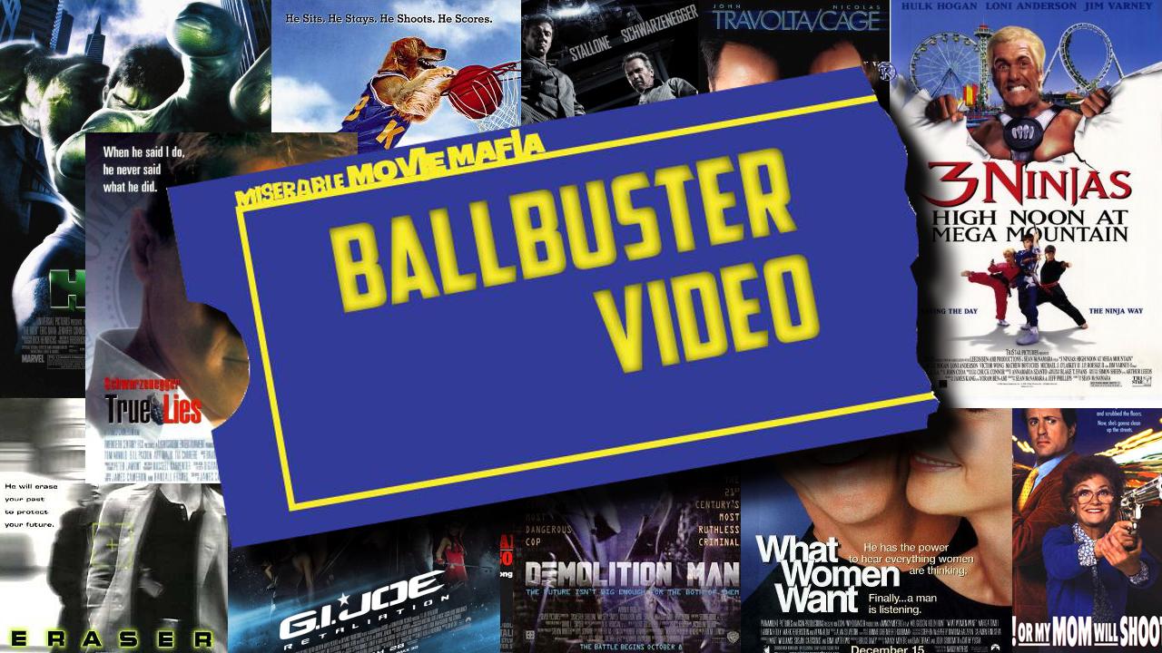 Artwork for Ball Buster Video #22: The Rocketeer