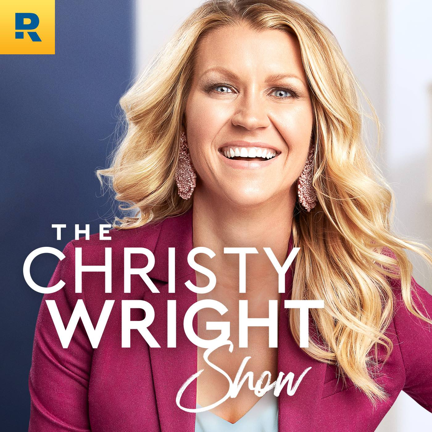 The Christy Wright Show show art