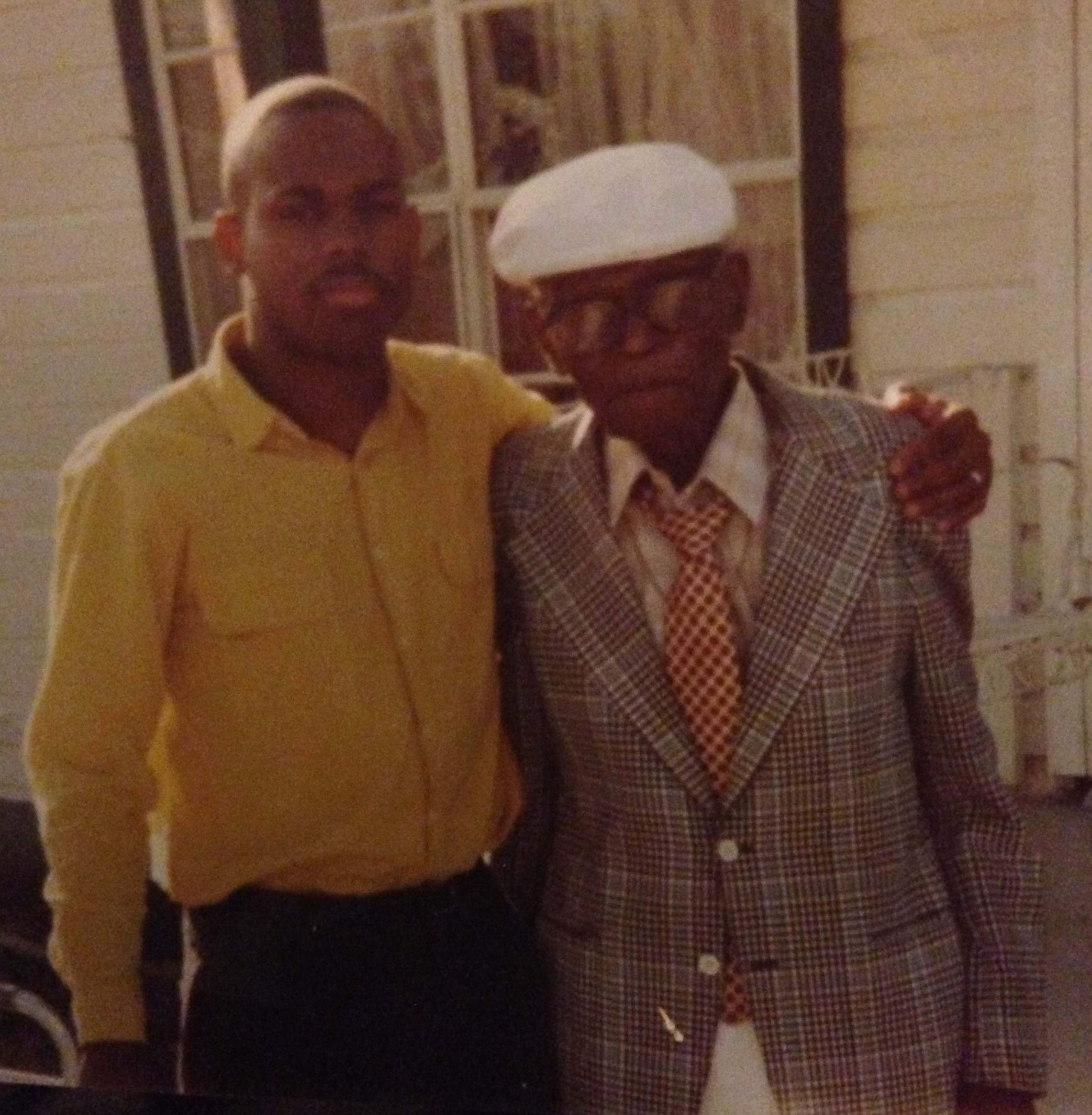 Me & Pop Bennie, The Son-N-Law to Papa Turner