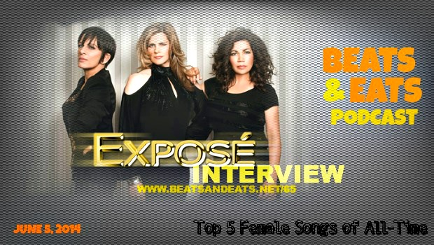B&E #65: Expose Band Interview | LGBT Community Discussion | Top 5 Female Songs by Women