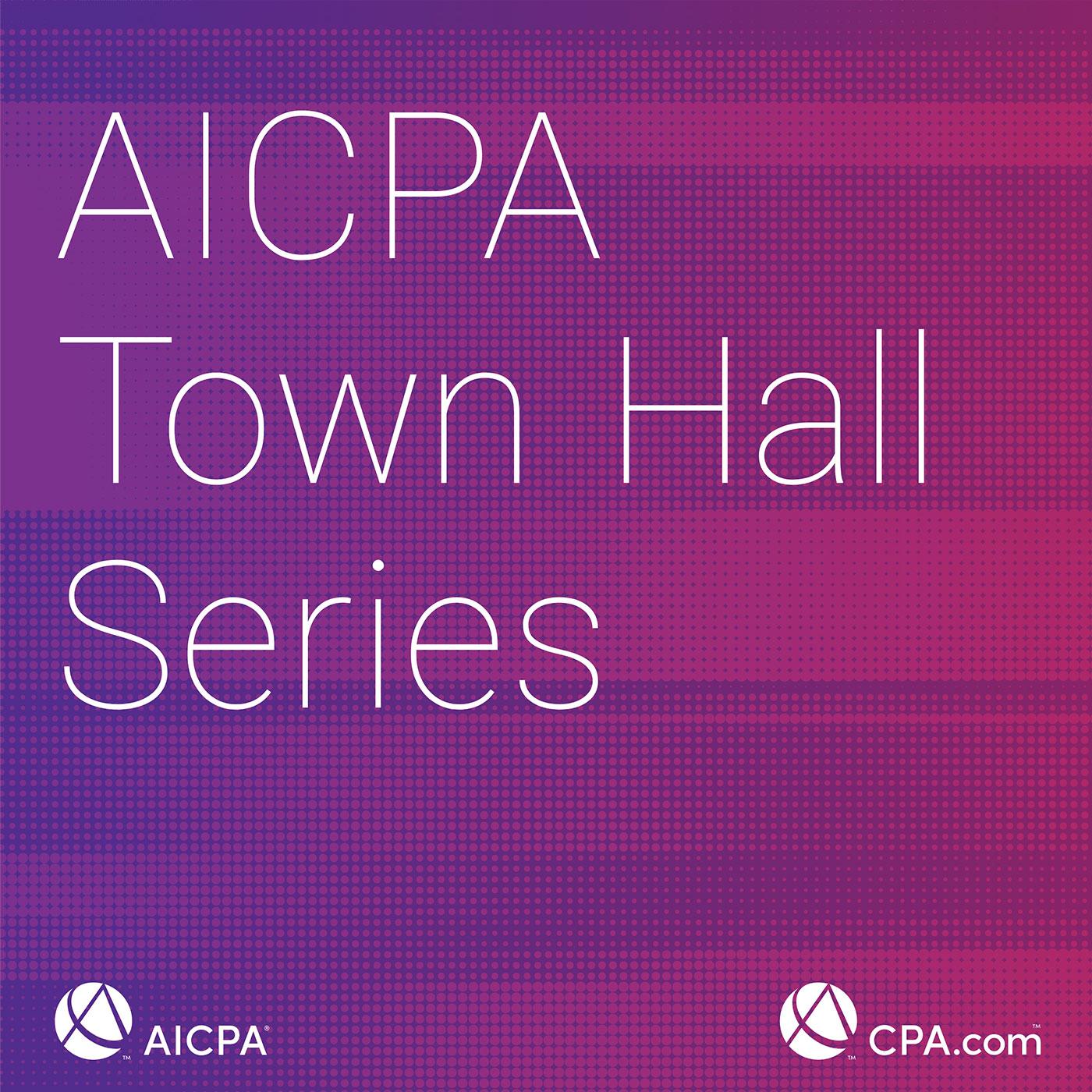 AICPA Town Hall show art
