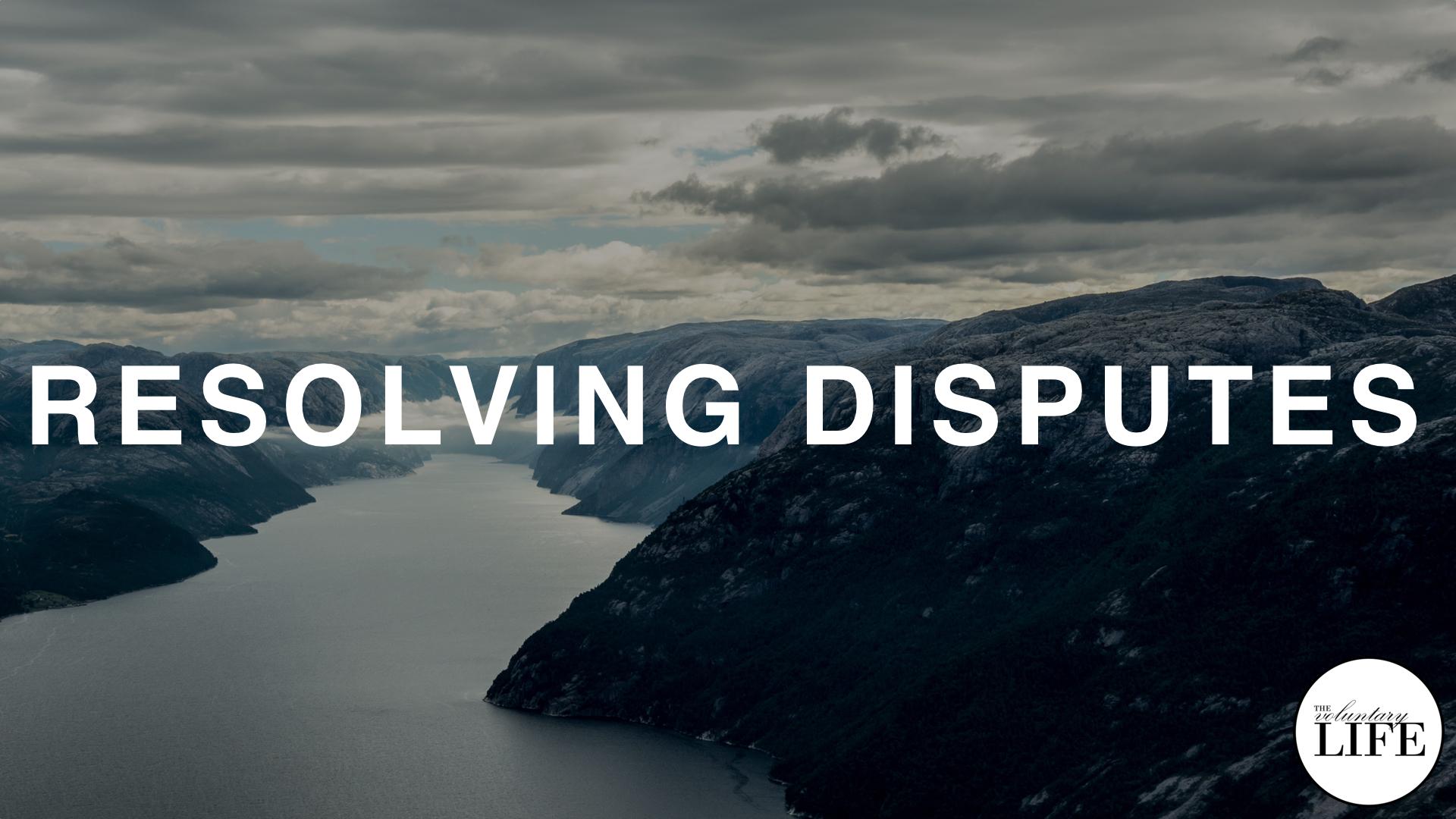 168 Win-Win Negotiation Part 3: Resolving Disputes