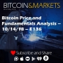 Artwork for Bitcoin Price and Fundamentals Analysis - 10/14/18 - E136