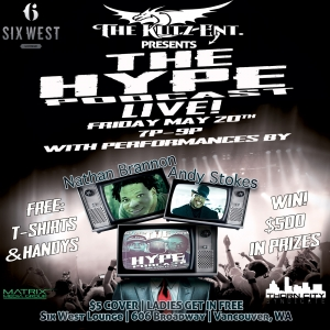 Episode 74 The Hype Podcast Live 2 5/20/16