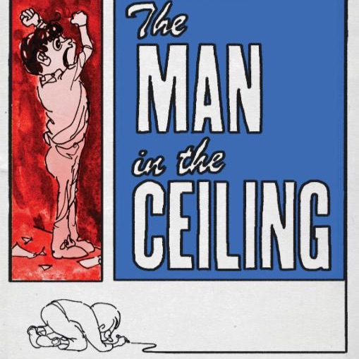 Artwork for Jules Feiffer The Man In The Ceiling