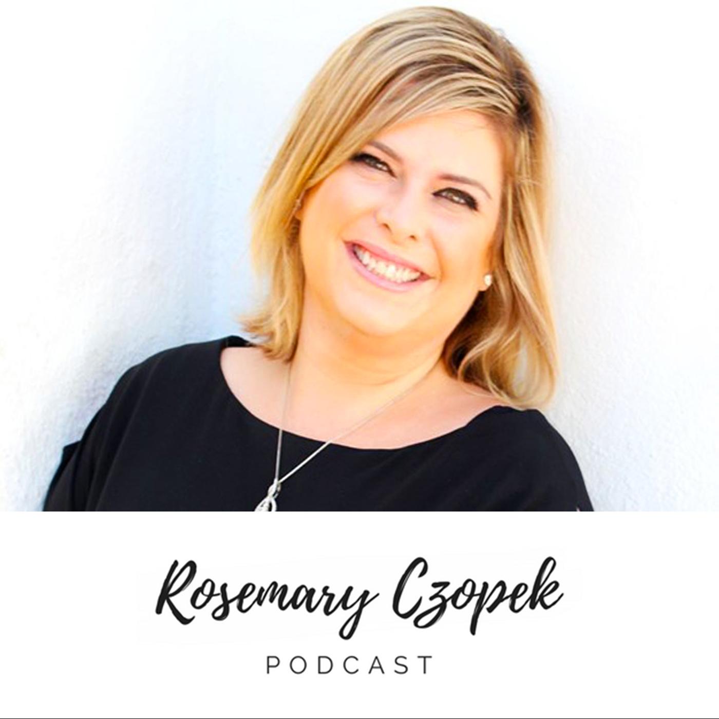 Rosemary Czopek Podcast show art