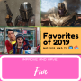 Artwork for Favorites of 2019-Movies and TV