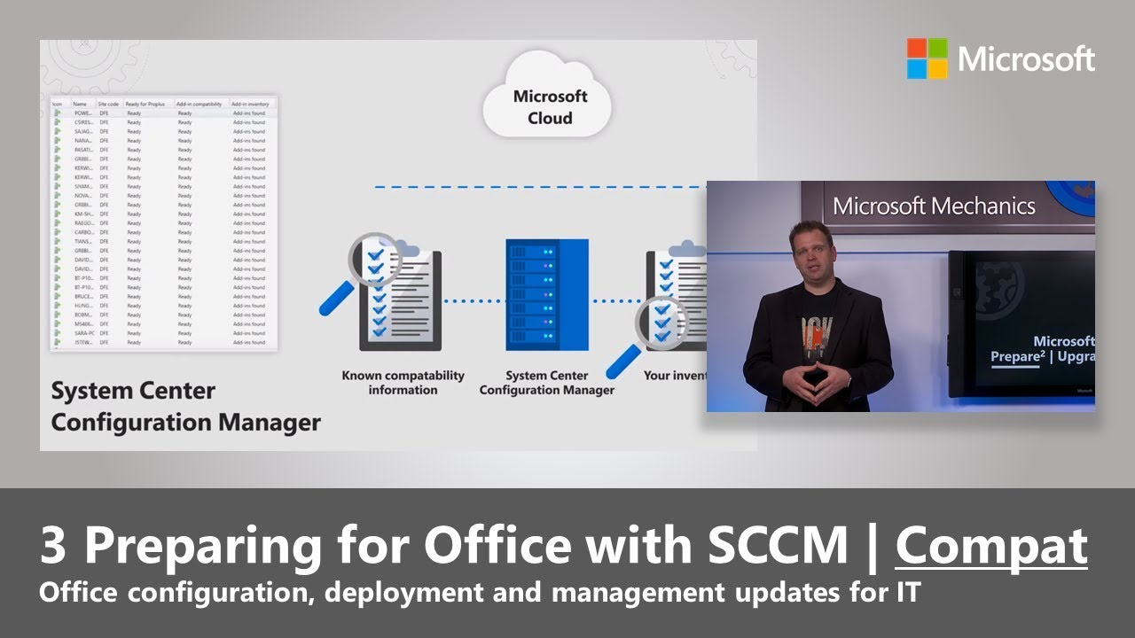 Artwork for Compatibility for Office upgrades using SCCM (2019)