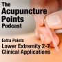 Artwork for Extra Points, Lower Extremity 2-7, Acupuncture Points and Clinical Applications