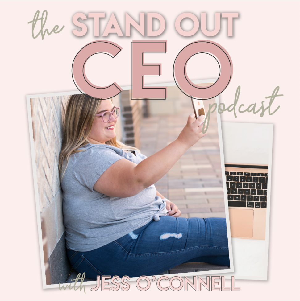Stand Out CEO Podcast show art