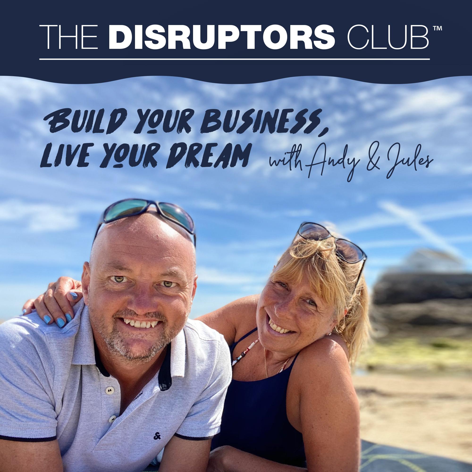 The Disruptors Club show art